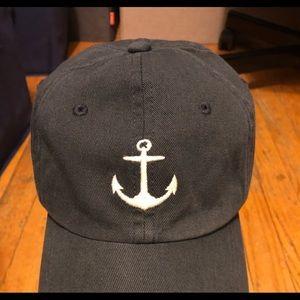 J. Crew Factory Navy Anchor Cap